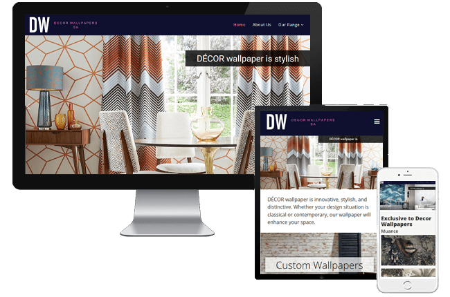 decor-wallpaper Website, SEO, Hosting, Social Media Specialists - Welcome to Netwise Multimedia