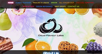 Cloud Flavour Website